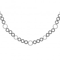 Lady's Ss-18K Circles Chain