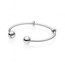 Open Bangle Bracelet