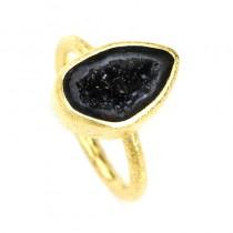 Perdita Geode Ring