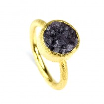 Nimbus Druzy Ring