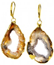Venus Geode Earrings