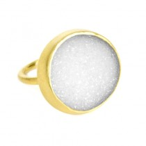 Chillaxin Druzy Ring