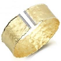 Lady's Yellow 14 Karat Gallery Bracelet