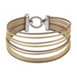 Multi Color Cable Bracelet