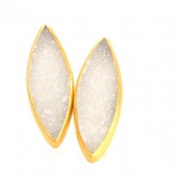 Zen-Enlightened Druzy Earrings