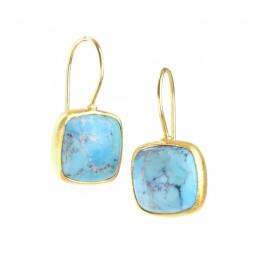 Zen-Dharma Turquoise Earrings